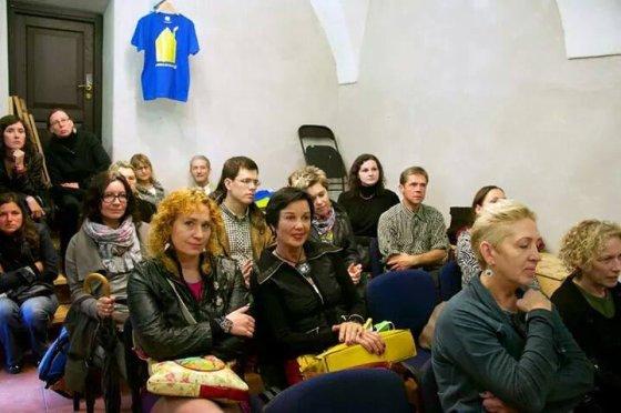 Lino Šapnagio nuotr. /Pirmojo paramos Ukrainai aukciono metu Vilniuje