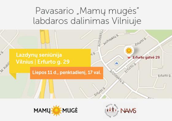 """""""Mamų mugės"""" nuotr./Žemėlapis"""
