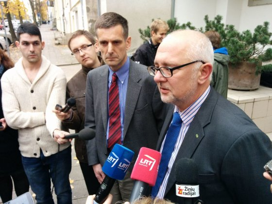 Dovydo Pancerovo nuotr./Švietimo ministras D.Pavalkis ir VSD vadovas G.Grina