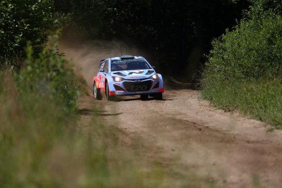 Beno Dragūno nuotr./WRC etapas Lietuvoje