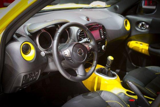 """Irmanto Gelūno/15min.lt nuotr./Atnaujintas """"Nissan Juke"""" Ženevoje"""