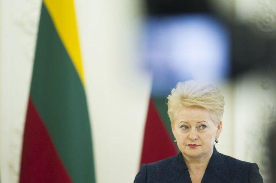 Irmanto Gelūno/15min.lt nuotr./Dalia Grybauskaitė
