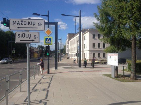 Igno Jucio nuotr./Gatvė, kurios pavadinimą siūloma keisti