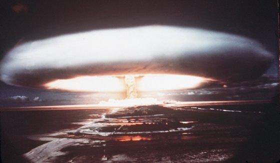 """AFP/""""Scanpix"""" nuotr./Branduolinis sprogimas."""