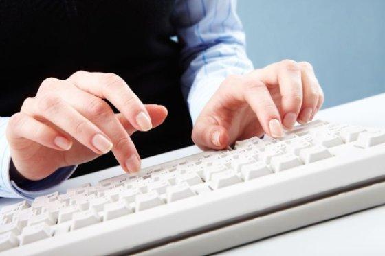 123rf nuotr./Kompiuterio klaviatūra