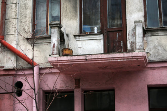 Eriko Ovčarenko/15min.lt nuotr./Kauno centro balkonai