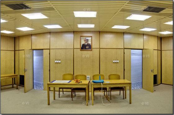 """Bosnijoje esančiame komunistų lyderio Josifo Tito """"asmeniniame"""" bunkeryje įrengta net konferencijų salė."""