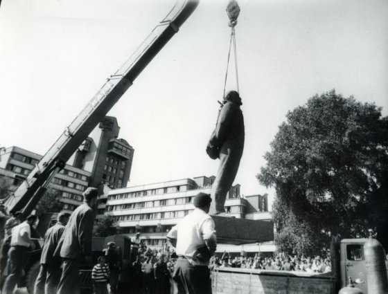 S.Jokužio nuotr./S.Jokužio fotografijos parodoje įamžinti ryškiausios Klaipėdos istorijos akimirkos.