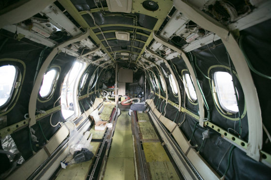 Juliaus Kalinsko/15min.lt nuotr./Šiame lėktuve būna auksinės kriauklės