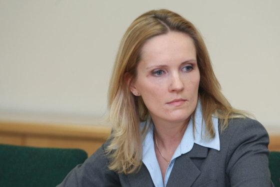 """Juliaus Kalinsko/15min.lt nuotr./""""Baltpool""""  generalinė direktorė Laura Žalaitė"""