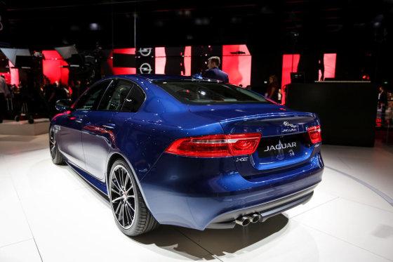 "Juliaus Kalinsko/15min.lt nuotr./""Jaguar XE"""