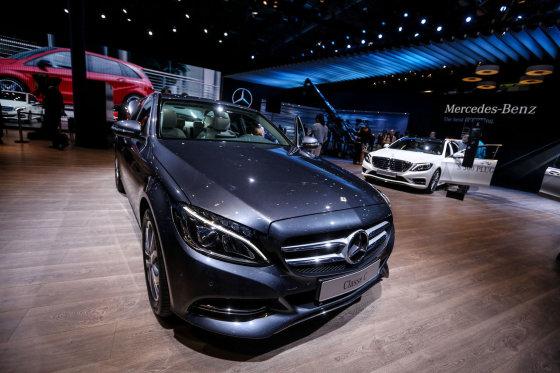 "Juliaus Kalinsko/15min.lt nuotr./""Mercedes-Benz"" naujienos Paryžiuje"