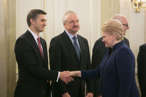 Juliaus Kalinsko/15min.lt nuotr./Prezidentė susitiko su Vyriausybe