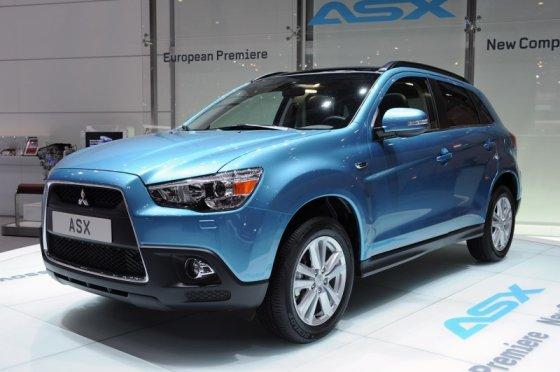 "Gamintojo nuotr./""Mitsubishi ASX"" premjera"