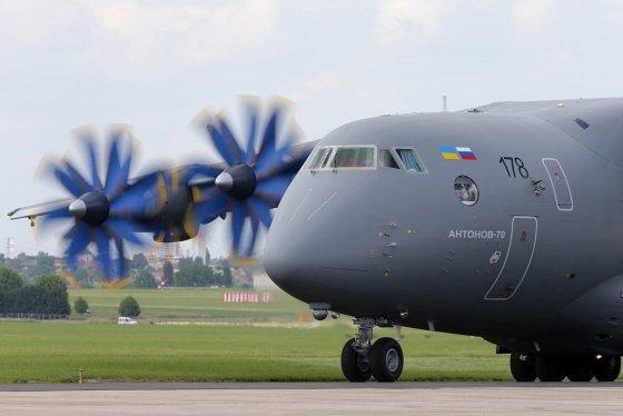 """Reuters""/""Scanpix"" nuotr./""Antonov An-70"""