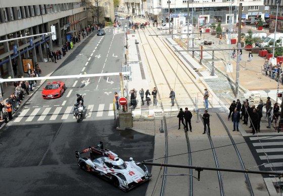 """AFP/""""Scanpix"""" nuotr./""""Audi R18 E-Tron Quattro"""" Le Mane"""