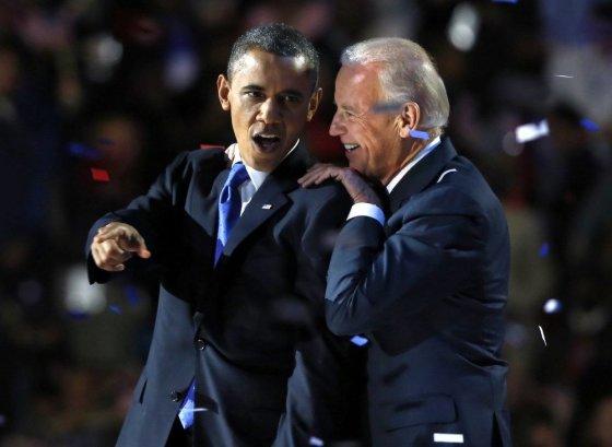 """""""Reuters""""/""""Scanpix"""" nuotr./Barackas Obama ir Joe Bidenas"""