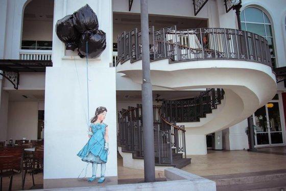"""""""Streetart.lt"""" nuotr./Ernesto Zacharevičiaus piešinys"""