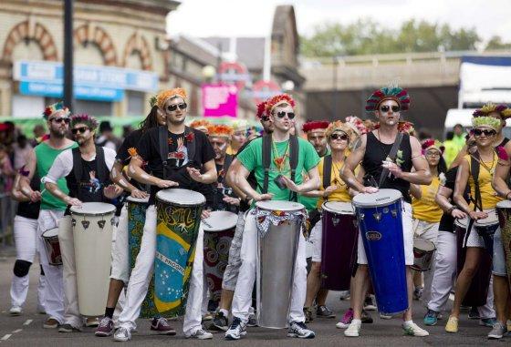 "AFP/""Scanpix"" nuotr./Karnavalas ""Notting Hill"""