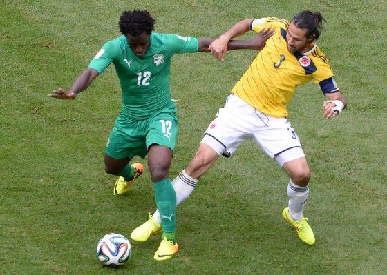 """AFP/""""Scanpix"""" nuotr./Wilfriedas Bony ir Mario Alberto Yepesas"""