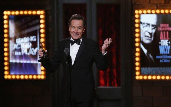 """""""Reuters""""/""""Scanpix"""" nuotr./Bryanas Cranstonas """"Tony"""" apdovanojimuose"""