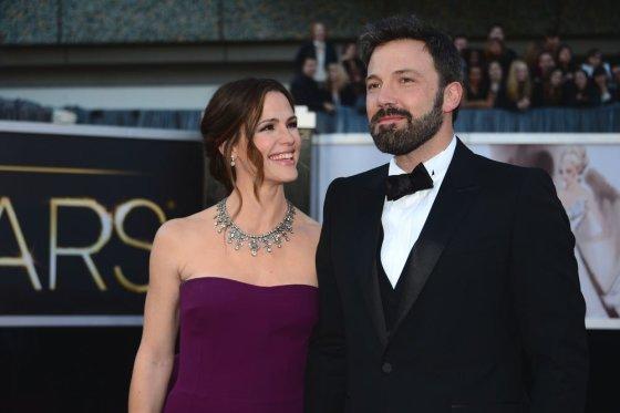 "AFP/""Scanpix"" nuotr./Jennifer Garner ir Benas Affleckas"