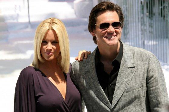 """AFP/""""Scanpix"""" nuotr./Jimas Carrey ir Jenny McCarthy"""
