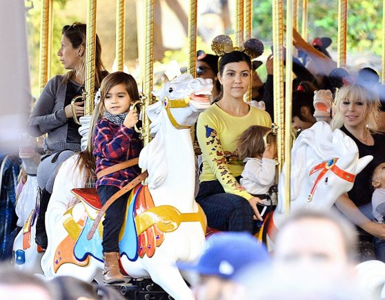 AOP nuotr./Kourtney Kardashian ir Scotto Disicko sūnus Masonas švenčia ketvirtąjį gimtadienį