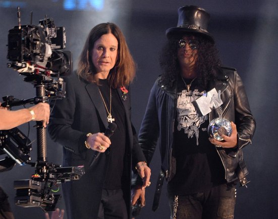 """""""Scanpix"""" nuotr./Ozzy Osbourne'as ir Slashas"""