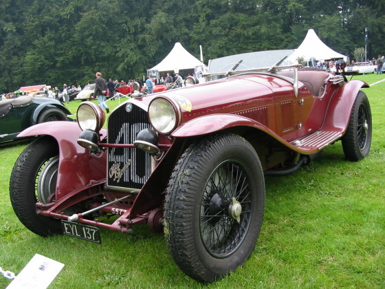 "Wikipedia.org nuotr./1932 m. ""Alfa Romeo 8C"""