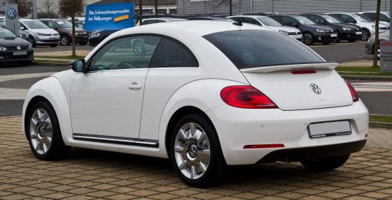 "Wikipedia.org nuotr./2014-ųjų ""Volkswagen Beetle"""