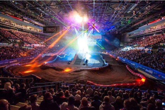 """""""Arenacross"""" varžybos"""
