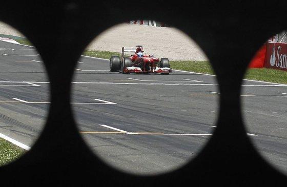 """""""Scanpix"""" nuotr./F-1 Barselonos lenktynių kvalifikacija"""