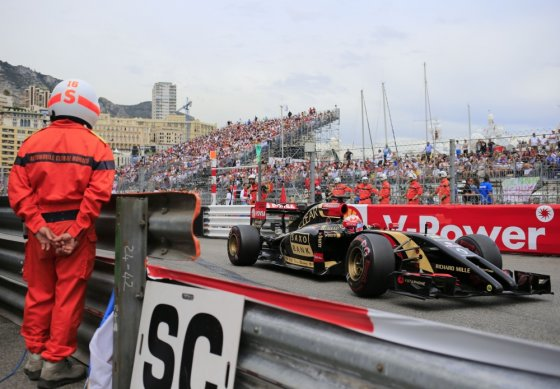 """Scanpix"" nuotr./F-1 lenktynės Monte Karle"