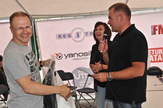 """Algimanto Brazaičio nuotr./""""Geriausio vairuotojo"""" konkursas Vilniuje"""