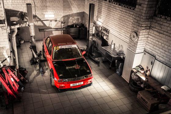 Algirdo Venskaus/Waska.lt nuotr./Mindaugo Rickevičiaus BMW 3