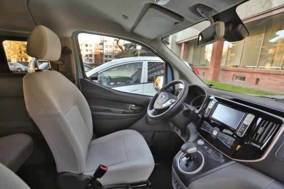 "Juliaus Kalinsko/15min.lt nuotr./""Nissan e-NV200 Evalia"""