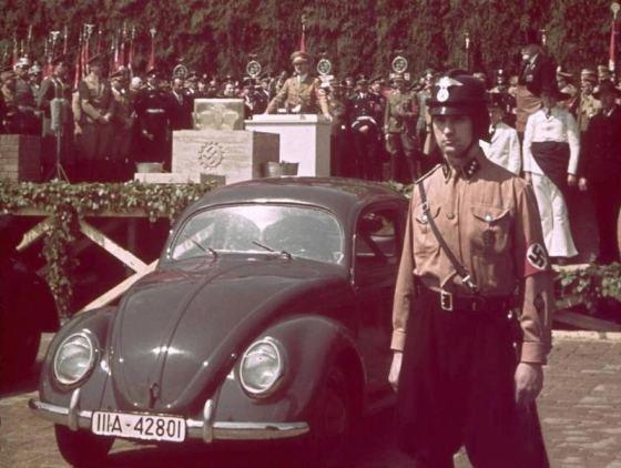 "Wikipedia.org nuotr./""Volkswagen Kafer"" antrojo pasaulinio karo met"