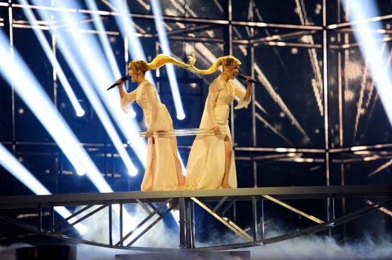 """Thomas Hanses (EBU)/Rusijos atstovės """"Tolmachevy Sisters"""""""