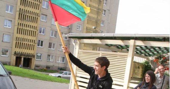 """Kadras iš filmo/""""Emigrantai"""" (2013)"""