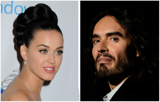 "AFP/""Scanpix"" nuotr./Katy Perry ir Russellas Brandas"