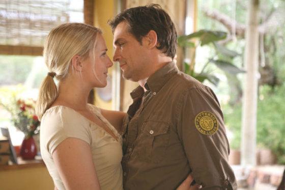 "Kadras iš filmo/""Mano širdis Afrikoje"" (""Mein Herz in Afrika"", 2007, IMDb – 5,4)"