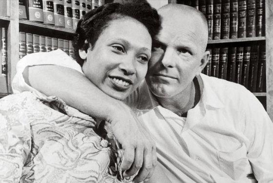 wikimedia.org nuotr./Mildreda ir Ričardas Lovingai