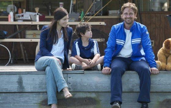 """Kadras iš filmo/""""Širdžių ėdikas"""" (""""Playing for Keeps"""", 2012, IMDb – 5,7)"""