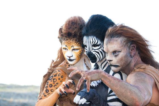 """""""Shutterstock"""" nuotr./Laukinio gyvūno kostiumas tikrai sukels nuostabą."""