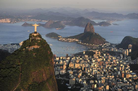 """""""Shutterstok"""" nuotr./Kristaus statula Rio de Žaneire"""