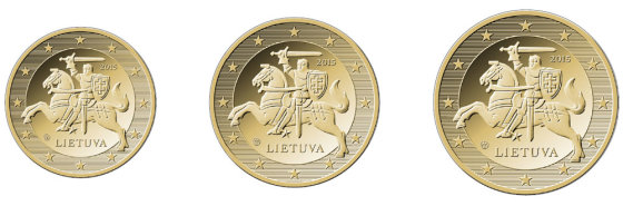 LB nuotr./10,20,50 euro centų