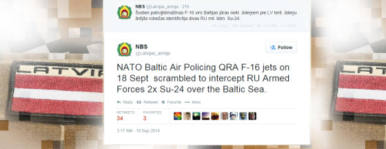 """Iliustracija iš """"Twitter""""/Latvijos karinių pajėgų pranešimas """"Twitter"""""""