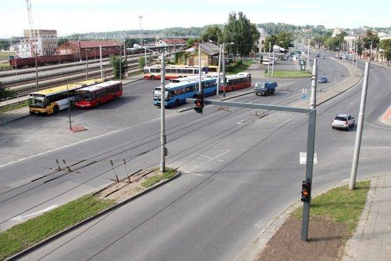 Kaunas.lt nuotr./Išmanioji sankryža Kaune