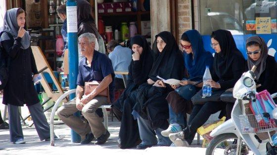 E.Visakavičiaus nuotr./Autobuso stotelė Irane